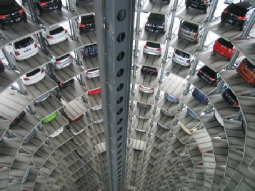 a north east multi storey car park